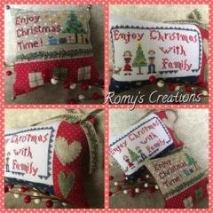 Romys Creations Stickvorlage Enjoy Christmas
