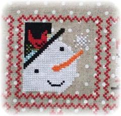 Annie Beez Folk Art Stickvorlage Snowy 2