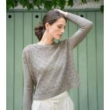 Let it Fall - Strickmuster Rosy Green Wool