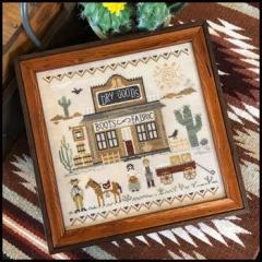 Little House Needleworks Stickvorlage Old West Dry Goods