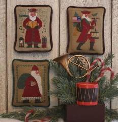 Prairie Schooler Stickvorlage Santas Revisited VII (1985, 2002, 2014)