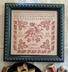 Lilas Studio Stickvorlage Anna Ohman 1873