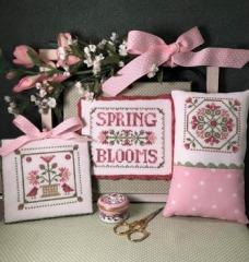 Scissor Tail Designs Stickvorlage Spring Blooms