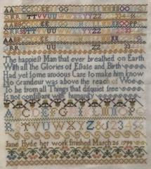 AuryTM Designs Stickvorlage Jane Hyde 1790