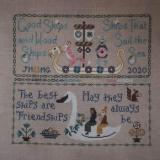 Bendy Stitchy Designs Stickvorlage Friendship Sampler
