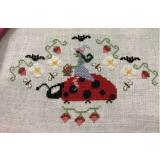 Bendy Stitchy Designs Stickvorlage Hildes Strawberry Patch