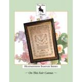 Cross Stitch Antiques Stickvorlage On This Fair Canvas Family Tribute Sampler