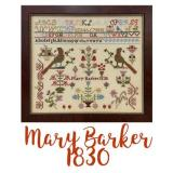 Just Stitching Along Stickvorlage Miss Mary Barker 1830