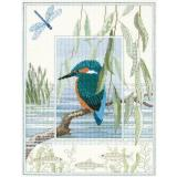 Bothy Threads Stickpackung DWWIL1 Wildlife Kingfisher 26,9x34,2