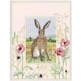 Stickpackung Bothy Threads DWWIL5 Wildlife Hare 26,9x34,2