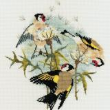Bothy Threads Stickpackung DWBB04Goldfinches And Thistles 22x24,5