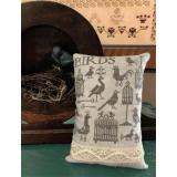 Shakespeares Peddler Stickvorlage Antique Birds & Cages