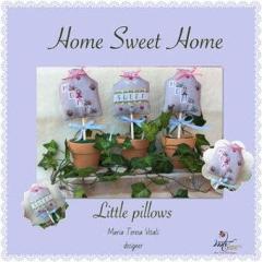 MTV Designs Stickvorlage Home Sweet Home Little Pillows