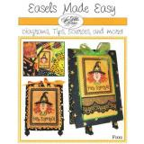 Sue Hillis Stickvorlage Easels Made Easy