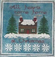 Mountain Aire Designs Stickvorlage All Hearts Come Home