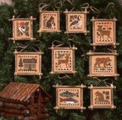 Prairie Schooler Stickvorlage Praririe Lodge
