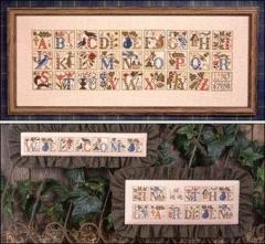Prairie Schooler Stickvorlage Garden Alphabet