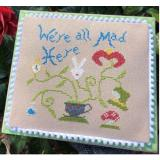 Bendy Stitchy Designs Stickvorlage Alices Mad Plant
