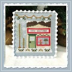 Country Cottage Needleworks Stickvorlage Snow Village 7 Snow Boutique