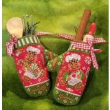 Blackberry Lane Designs Stickvorlage Gingerbread Mittens