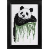 Permin of Copenhagen Stickpackung 13-9416 Panda 14x19