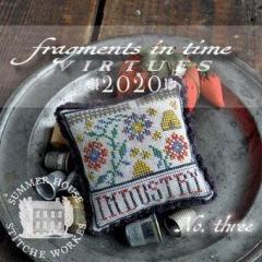 Summer House Stitche Workes Stickvorlage Fragments In Time 2020-3