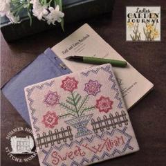 Summer House Stitche Workes Stickvorlage Ladies Garden Journal 1 Sweet William