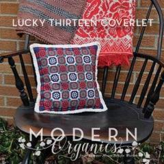 Summer House Stitche Workes Stickvorlage Lucky Thirteen Coverlet
