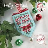 Hands On Design Stickvorlage Secret Santa Holly St. Nick