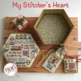 Hands On Design Stickvorlage My Stitchers Heart