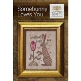 Cottage Garden Samplings Stickvorlage Somebunny Loves You