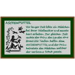 Kreuzstich-Insider Stickvorlage Aschenputtel