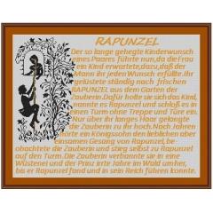 Kreuzstich-Insider Stickvorlage Rapunzel