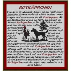 Kreuzstich-Insider Stickvorlage Rotkäppchen
