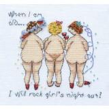 MarNic Designs Stickvorlage When I Am Old I Will Rock Girls Night Out