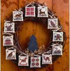 Prairie Schooler Stickvorlage Prairie Christmas