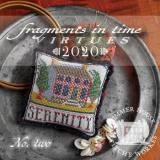 Summer House Stitche Workes Stickvorlage Fragments In Time 2020-2