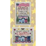 Waxing Moon Designs Stickvorlage Preserving Liberty