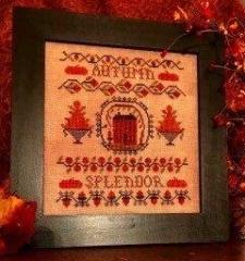 Homespun Elegance Ltd Stickvorlage Splendor of Autumn
