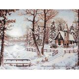 Luca-S Stickpackung B321 Winterlandschaft 37,5x28