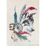 Stickpackung Luca-S B2305 Wolf 18x25