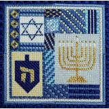 Needle Delights Originals Stickvorlage Holiday Delights Hanukkah