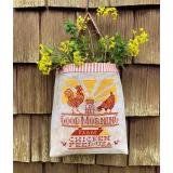 Carriage House Samplings Stickvorlage Chicken Feed Sack