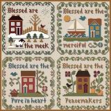 Little House Needleworks Stickvorlage Saltbox Scriptures