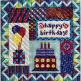 Needle Delights Originals Stickvorlage Holiday Delights Birthday