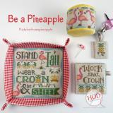 Hands On Design Stickvorlage Be A Pineapple
