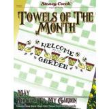 Stoney Creek Stickvorlage Towels Of The Month May