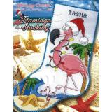 Stoney Creek Stickvorlage Flamingo Stocking