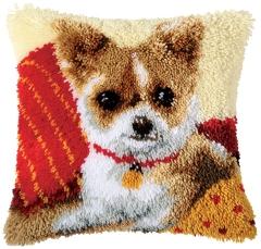 Vervaco Knüpfpackung PN-0014183 Chihuahua 40x40