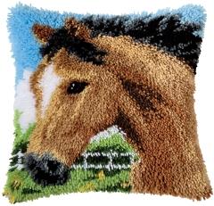 Vervaco Knüpfpackung PN-0014184 Pferd 40x40